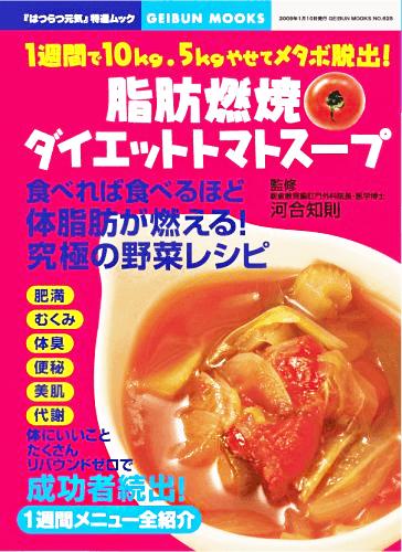 脂肪燃焼ダイエットトマトスープ 表紙