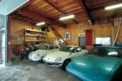 旧車の棲むガレージ 掲載イメージ