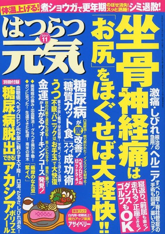 はつらつ元気 2011年11月号 「自力で治す!」が成功する健康実用誌