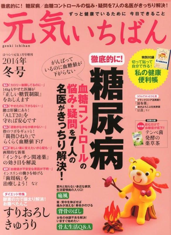 元気いちばん 2014年冬号 表紙