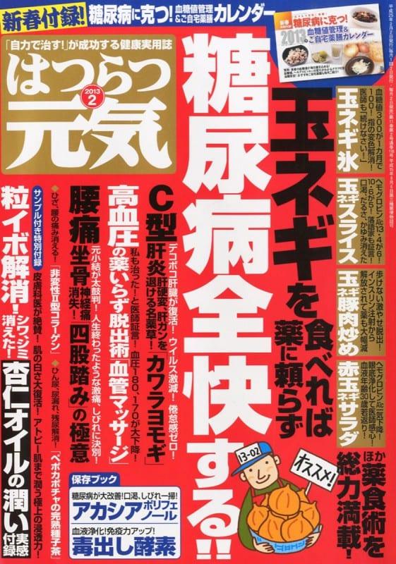 はつらつ元気 2013年2月号 「自力で治す!」が成功する健康実用誌