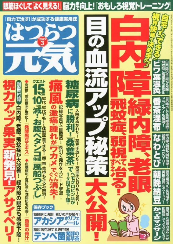 はつらつ元気 2013年3月号 「自力で治す!」が成功する健康実用誌