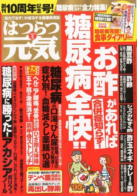 はつらつ元気 2013年5月号 「自力で治す!」が成功する健康実用誌