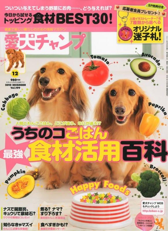 愛犬チャンプ 2010年12月号