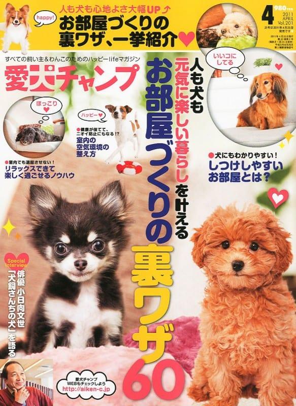 愛犬チャンプ 2011年4月号