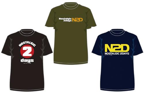 Nostalgic2days限定Tシャツ