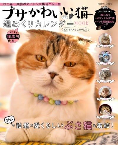 ブサかわいい猫 週めくり カレンダーMOOK